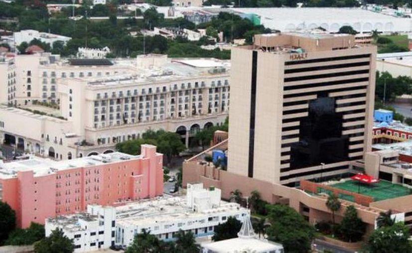 Los hoteles de la capital yucatan registran una baja en sus reservaciones. (Novedades Yucatán)