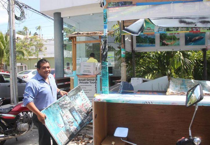 Sobre la zona turística del primer cuadro de la ciudad se contabilizaron 1200 negocios formales. (Daniel Pacheco/SIPSE)