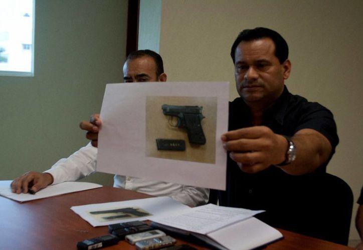 El miércoles las autoridades policiales dieron a conocer la detención de nueve integrantes de una banda de extorsionadores que operaba en Playa del Carmen.  (Redacción/SIPSE)
