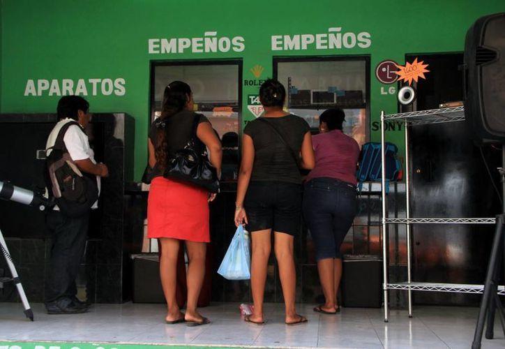La Profeco indica que en Yucatán existen más de 600 casas de empeño. (Milenio Novedades)
