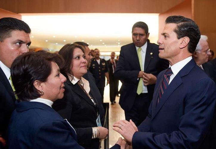 Peña Nieto encabezó la inauguración del Octavo Foro Nacional sobre Seguridad y Justicia. (Presidencia)