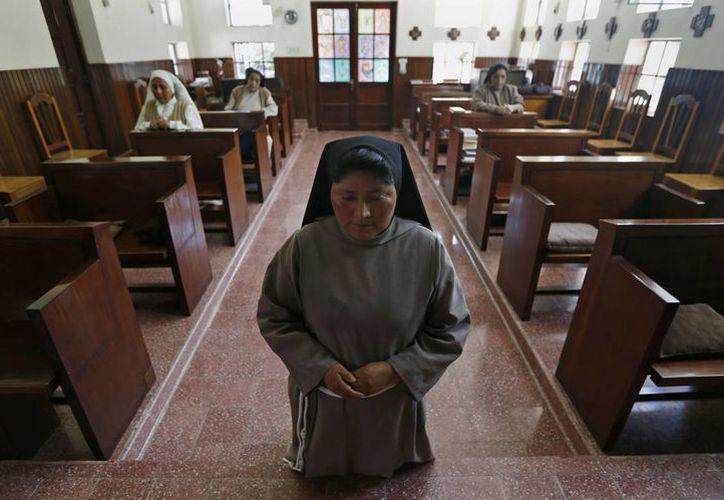 La identidad de la monja agredida sexualmente en Bolivia se mantiene bajo reserva. La imagen se utiliza con fines estrictamente referencial. (Archivo/Agencias)