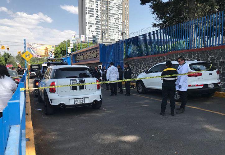 Los hechos sucedieron cerca de un colegio que de inmediato publicó en sus redes sociales que el suceso es ajeno a sus instalaciones. (Foto: Excélsior).