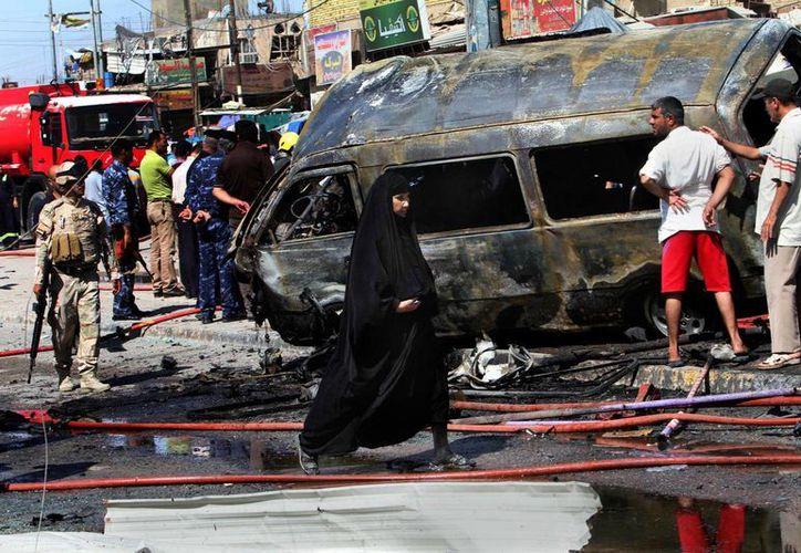 Las informaciones sobre las bajas en Irak pueden variar considerablemente debido a los relatos diferentes de la policía local y los funcionarios de los hospitales. (Agencias)