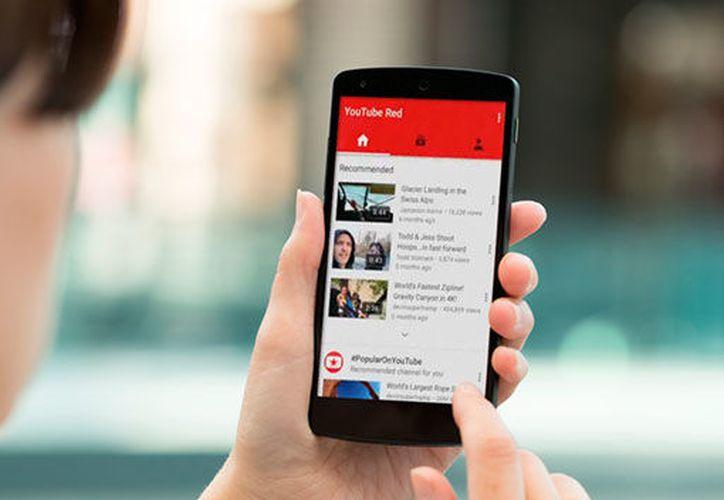 Entre las actualizaciones se incluirá una barra de búsqueda de YouTube para móviles mucho más grande y pronunciada. (Foto: Contexto)