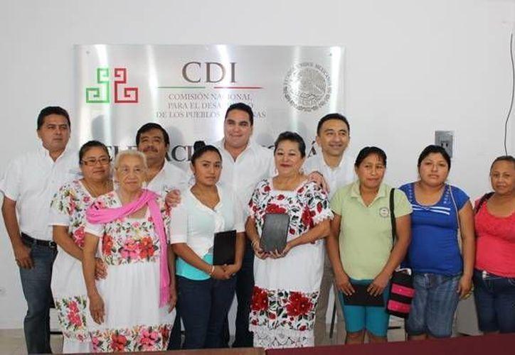 La CDI reconoció a los creadores de la comunidad del interior del Estado. (Milenio Novedades)
