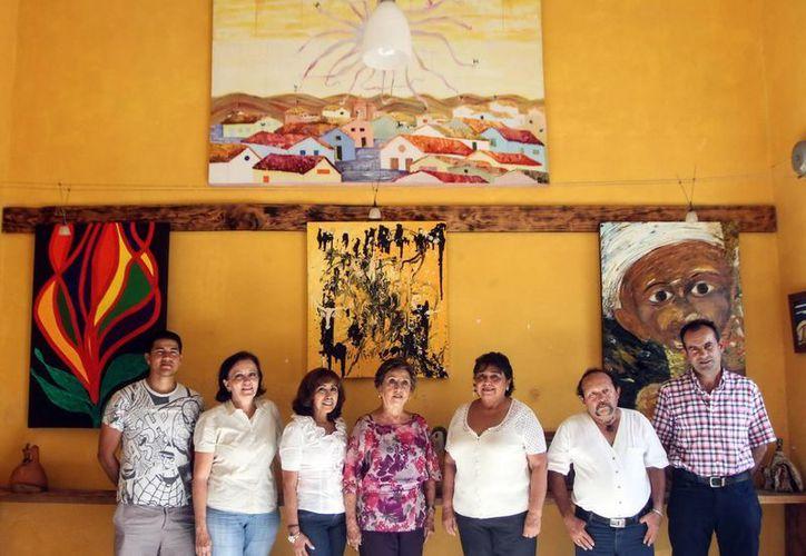 Integrantes del Corredor Internacional del Arte que expondrán en Matanzas, Cuba. (Milenio Novedades)