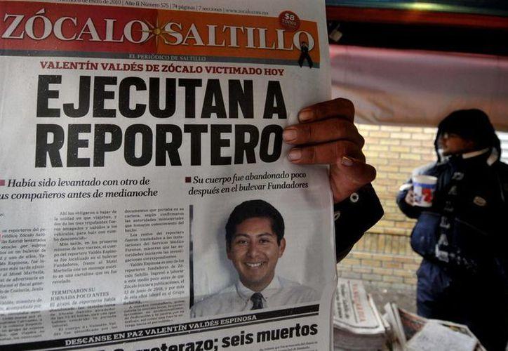 Recientemente, los medios de comunicación del norte del país han sufrido diversos atentados. (EFE)