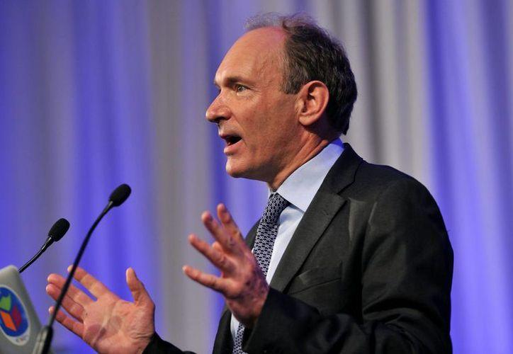 El director del consorcio World Wide Web, el británico Tim Berners-Lee, durante un acto. (Archivo/EFE)
