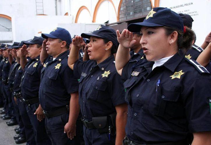 """La policía municipal será fortalecida con el plan de """"mando único"""". (SIPSE)"""