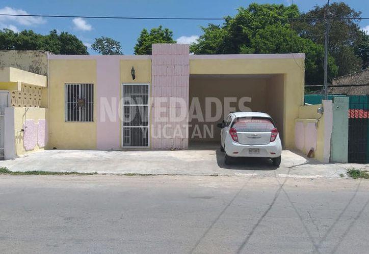 Esta fue la vivienda que fue robada. (Novedades Yucatán)