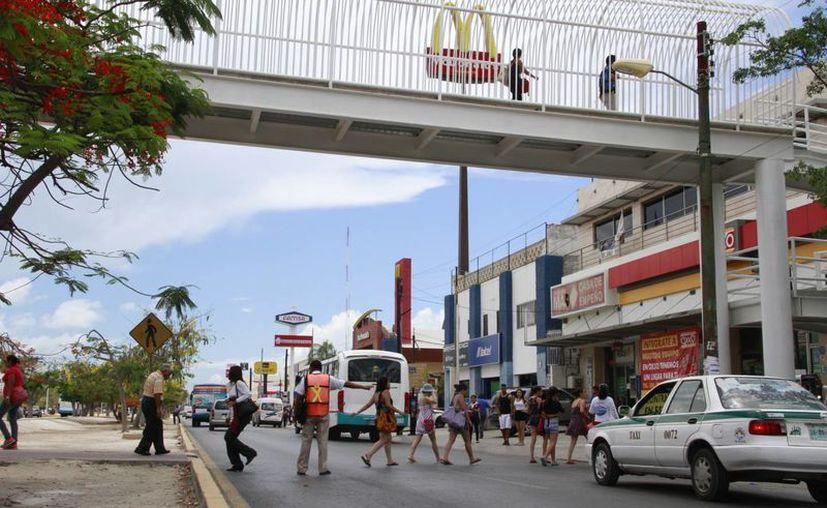 La Dirección de Tránsito municipal envió una solicitud para la instalación de malla ciclónica. (Tomás Álvarez/SIPSE)