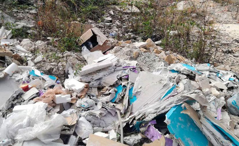 Es en la ampliación de la avenida 28 de Julio y Flor de Ciruelo donde se concentra el problema. (Octavio Martínez/SIPSE)