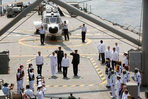 Peña Nieto conmemora el Día de la Marina