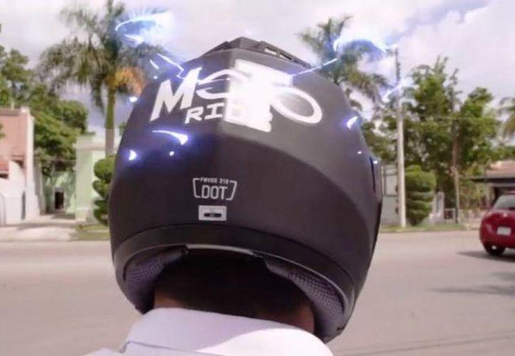La empresa Moto Ride indicó que cuenta con  permiso del Instituto de Movilidad y Desarrollo Urbano Territorial. (Foto: captura de pantalla).