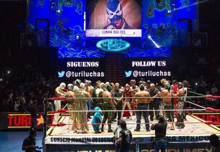 La Arena México ha sido reconocida como 'La casa de la lucha libre', ya que en ella se han realizado múltiples eventos luchísticos. (Arena México)