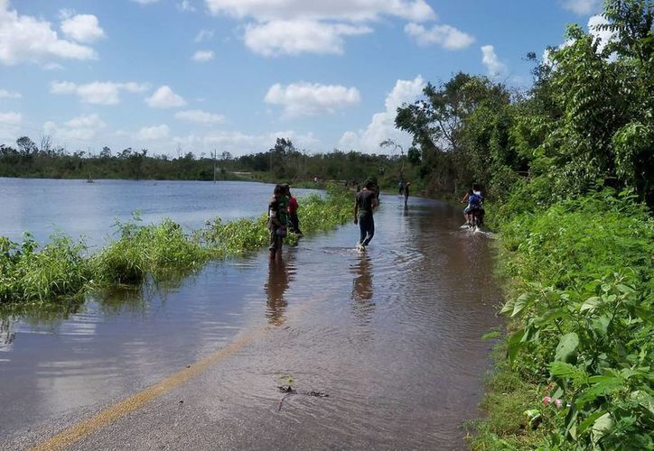 Tres municipios del estado se vieron afectados por las lluvias. (Cortesía/SIPSE)