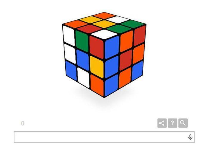 El cubo tradicional tiene seis caras, cada una con tres casillas por tres. Cada cara tiene un color diferente: blanco, rojo, azul, naranja, verde y amarillo. (Captura de Pantalla)