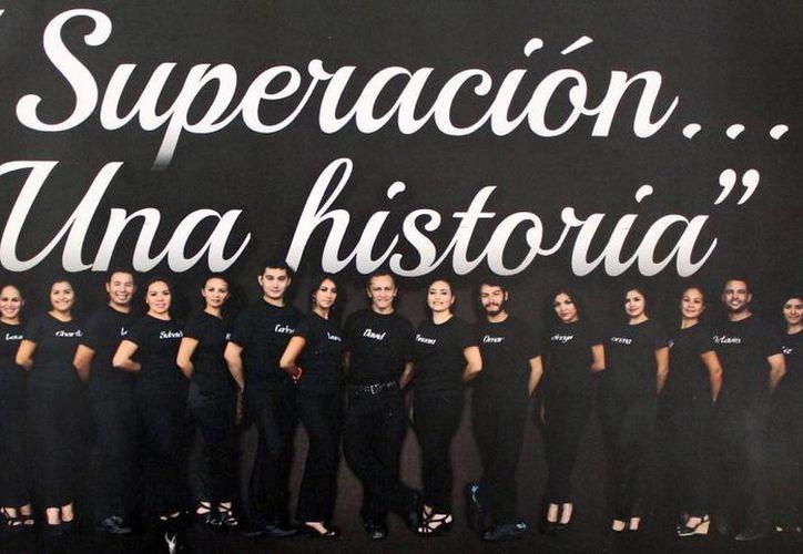 Superación ofrecerá una antología de sus obras el próximo viernes en el Teatro 'Daniel Ayala Pérez'. (Milenio Novedades)