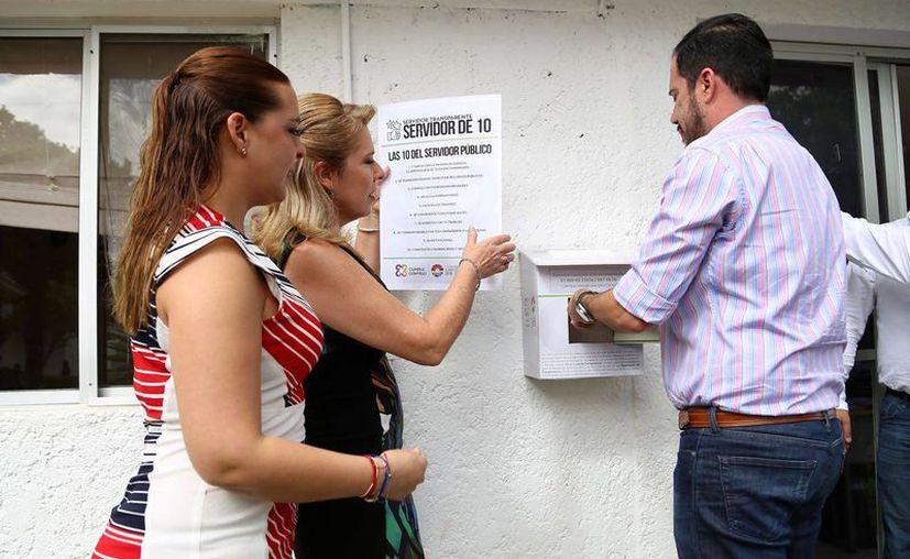 Los buzones se colocaron en dependencias donde se tiene contacto permanente con la ciudadanía. (Foto: Redacción)