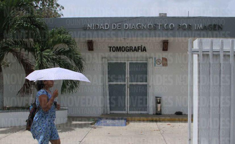 Investigan irregularidades en las áreas de resonancias y tomografías. (Alejandra Carrión/SIPSE)