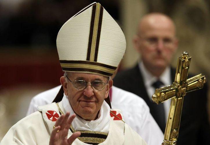 El Papa Francisco anunció su viaje a Brasil, el país con más católicos en Latinoamérica. (Agencias)