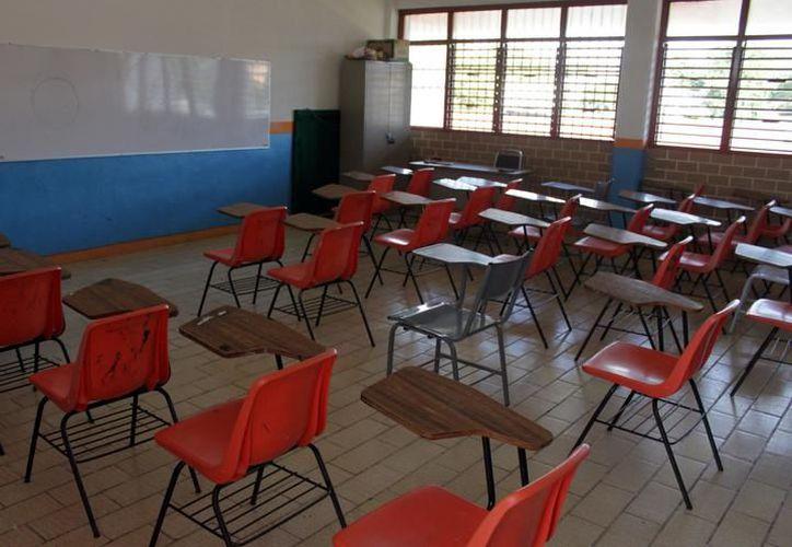 Será el próximo 21 de agosto cuando todos los alumnos, de los dos calendarios, regresen a las aulas para el próximo ciclo. (Joel Zamora/SIPSE)