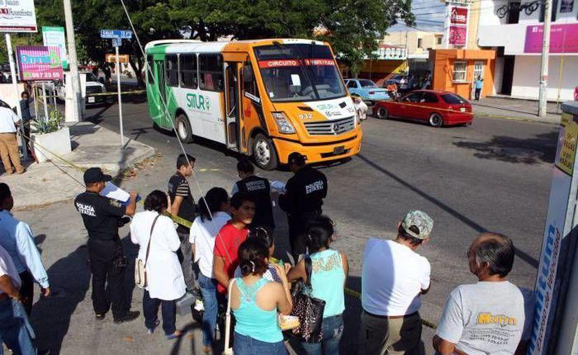 Imagen del accidente que ocurrió el pasado día 21, en Residencial Pensiones. El acusado deberá pagar medio millón de pesos como fianza. (Archivo/Agencias)