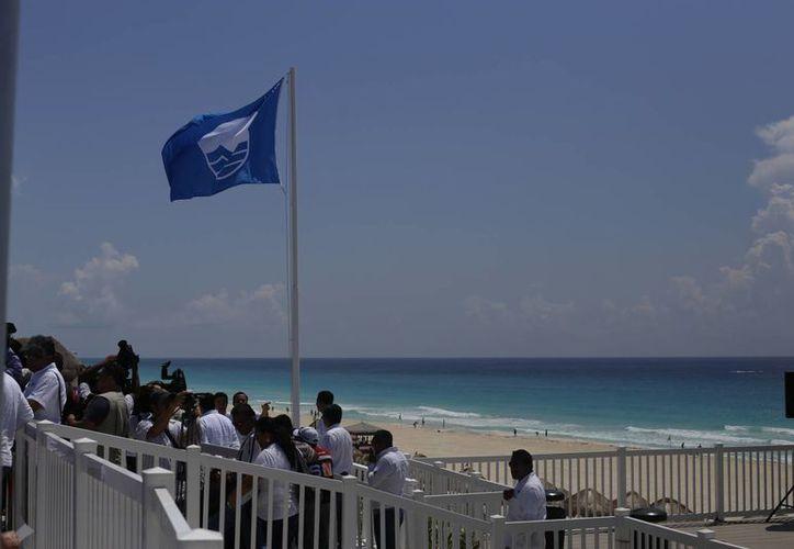 Benito Juárez cuenta con tres playas certificadas. (Israel Leal/SIPSE)
