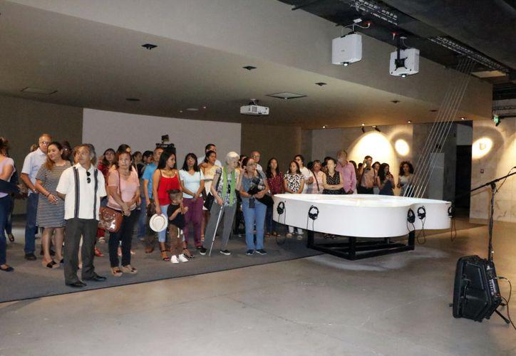 Comenzaron las actividades para celebrar el primer año de vida del  Palacio de la Música. (Foto: José Acosta/Novedades Yucatán)