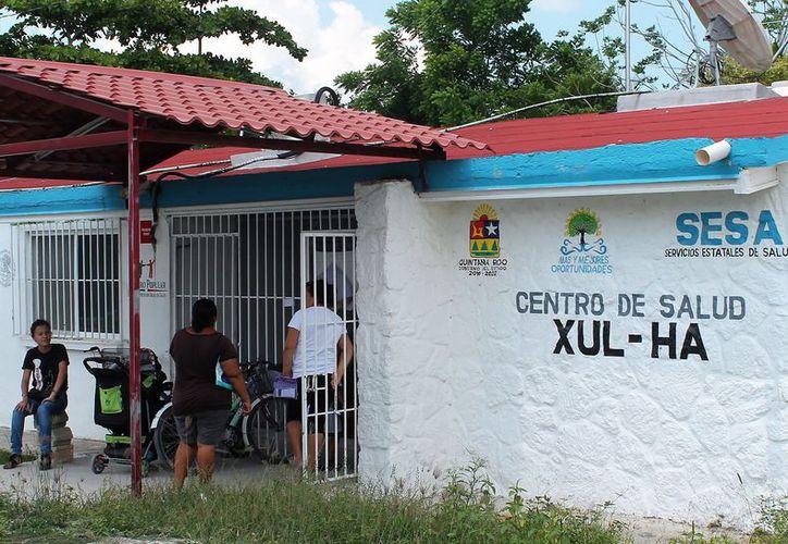 De acuerdo con la Sesa, cada dos meses surten medicamentos al centro de la localidad. (Javier Ortiz/SIPSE)