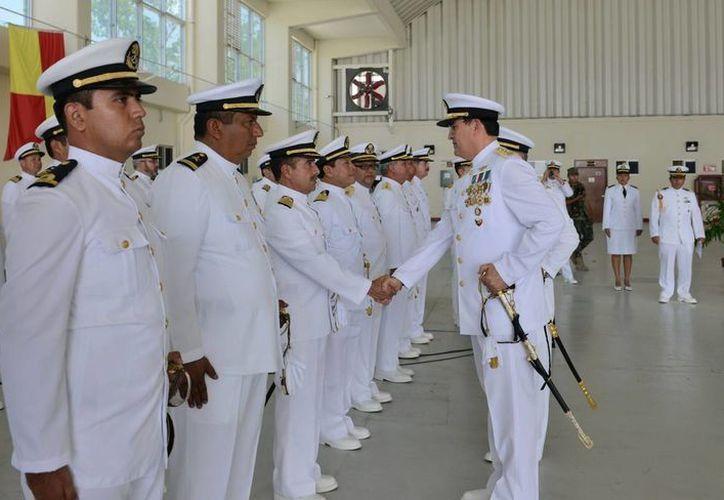 Permanente y estrecha colaboración con la Armada de México. (Redacción/SIPSE)