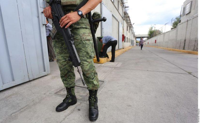 En 2019 hubo 242 agresiones al Ejército en el País, lo que dejó 11 Militares muertos y 84 Militares heridos. (Agencia Reforma)