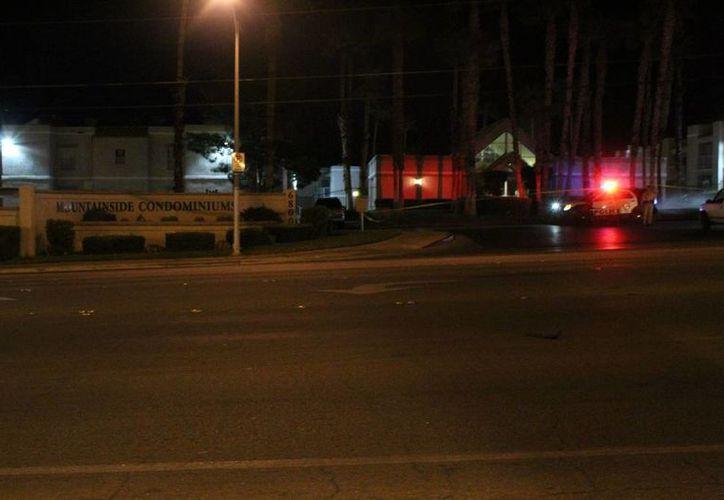 El cuerpo fue encontrado por la policía en la segunda revisión que hicieron en casa de la madre. (Las Vegas Review Jornal)
