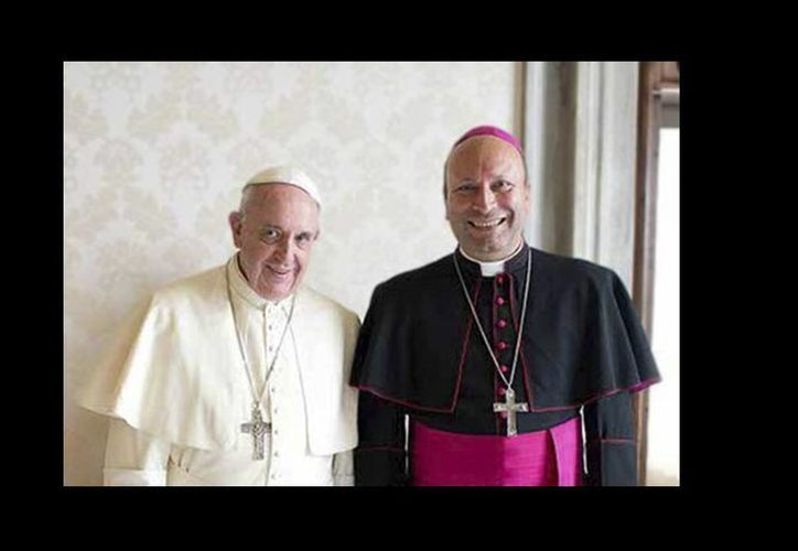 El Papa Francisco designó al arzobispo italiano Franco Coppola, hasta ahora nuncio apostólico en República Centroafricana y Chad, como nuevo embajador del Vaticano en México. (Twitter: @IglesiaMexico)