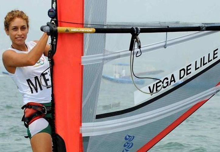 La cozumeleña, Demita Vega, será la representante mexicana en la disciplina de vela en los Juegos Olímpicos de Río de Janeiro. (Contexto/Internet)