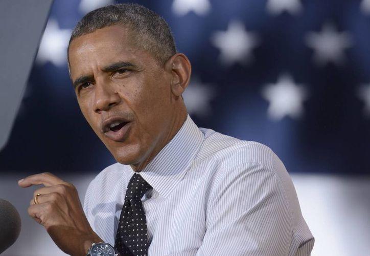 Obama tiene varios frentes abiertos en política exterior, punto que abordan los republicanos para cuestionar su mandato. (EFE)