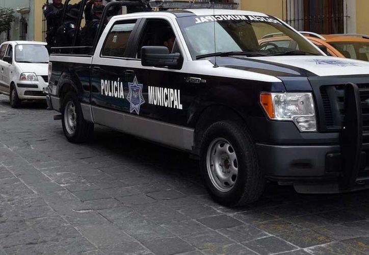 El hombre también intentó agredir con un machete a un segundo oficial. (Foto: Contexto/El Imparcial).