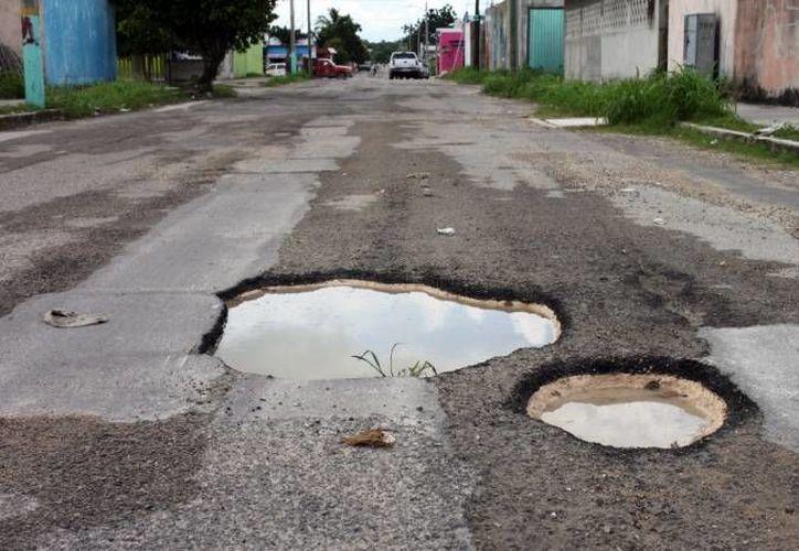 Durante los dos días de lluvia Bacalar y Othon P. Blanco los municipios más afectados. (Redacción/SIPSE)