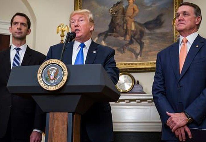 """El presidente reiteró asimismo su llamado a que los condenados por terrorismo reciban """"las penas más fuertes permitidas por la ley. (Foto: De Contexto)"""