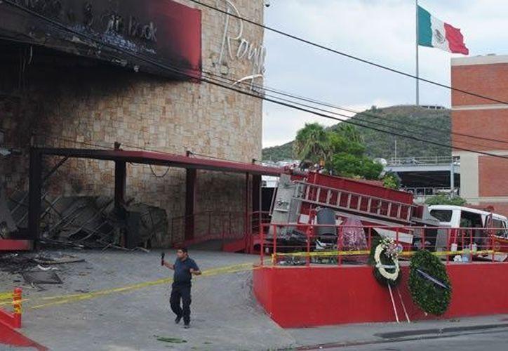 El Casino Royale ardió en llamas el 20 de agosto del 2011. (Archivo Notimex)