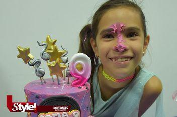 Festejan el noveno cumpleaños de Sofía García Madrigal
