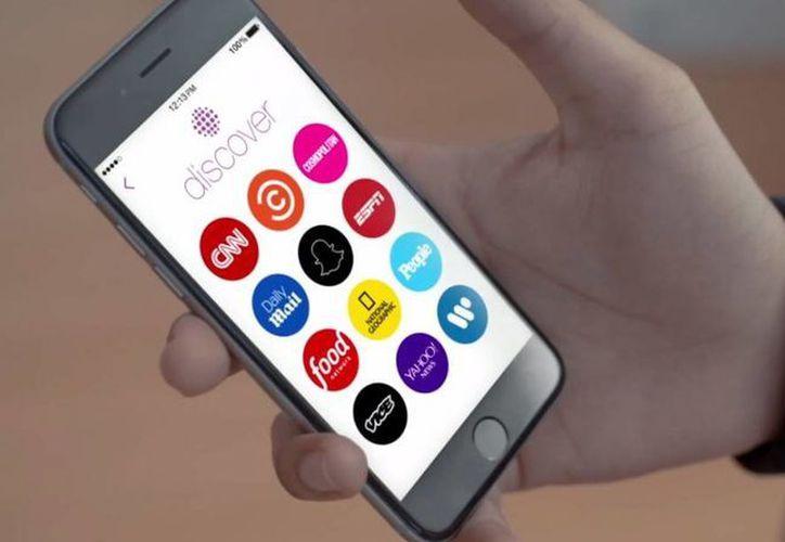 Snapchat ofrecerá el canal de noticias y finanzas de Yahoo. (businessinsider.com)