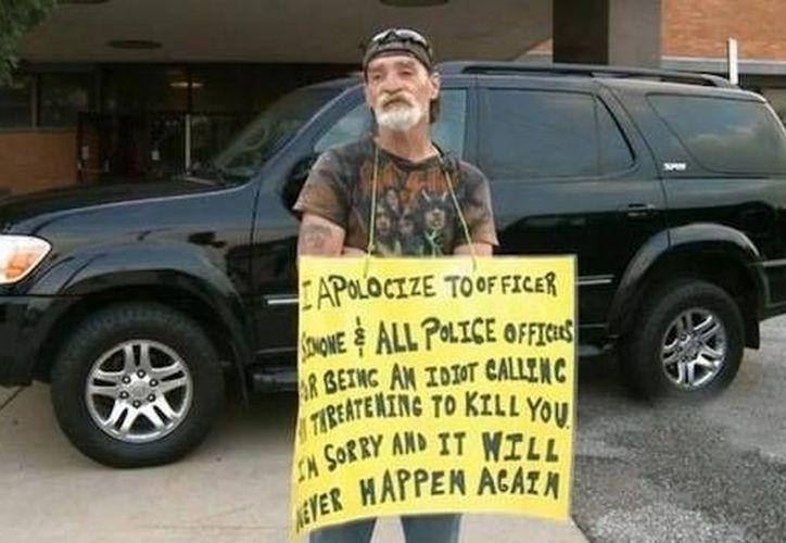 Dameron, de 58 años, anteriormente no cumplió con una condena dictada por arrojar botellas a la calle y no recogerlas. (actualidad.rt.com)