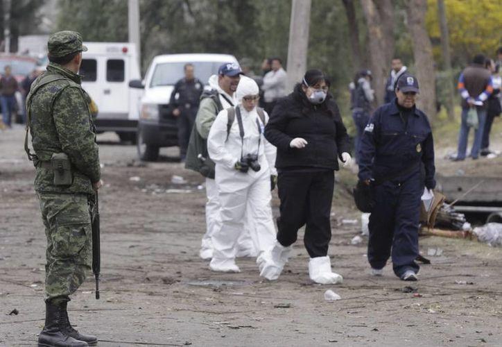 La autorización de la Sedena facilitaba el resguardo del material explosivo. (Notimex)