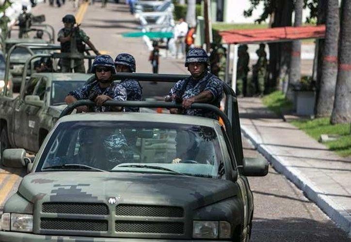 Los militares tendrán a su cargo la seguridad de las fronteras del estado de Guanajuato. (Excélsior)