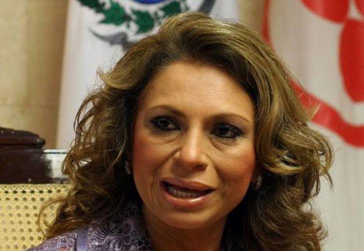 La ex alcaldesa Angélica Araujo Lara compareció de manera espontánea el día 17 pasado. (SIPSE/Archivo)