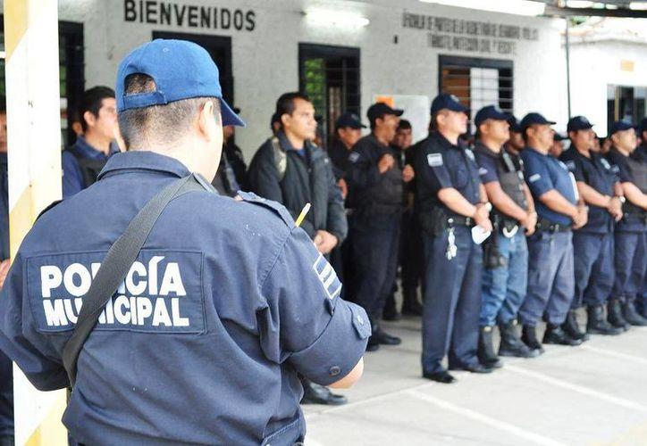 La modesta base policiaca de Jiutepec, conocida como 'Mangos' y ubicada en la colonia Constitución hizo de tiro al blanco para criminales este domingo. (cermorelos.com/Foto de contexto)
