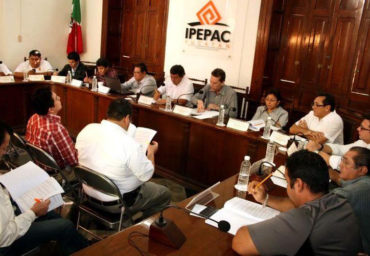 Este jueves sesionó el Consejo General del Ipepac. (Milenio Novedades)