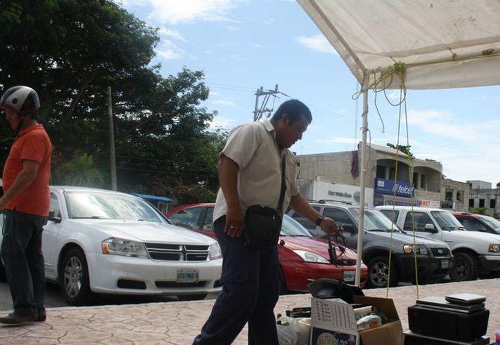 El viernes pasado culminó en Tulum el acopio de electrodomésticos en desuso. (Sara Cauich/SIPSE)